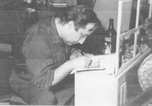 Aleksandar Petrović - Priprema za snimanje filma Dani 1962. god.