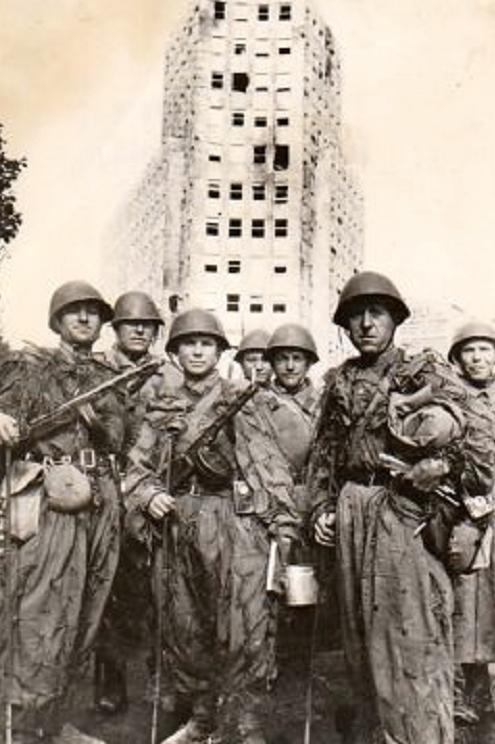 Crvenoarmejci oslobodioci Beograda