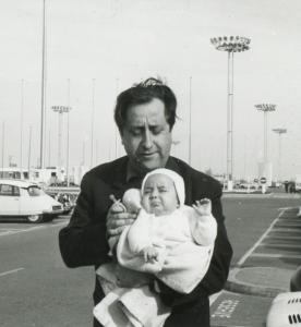 1961 Pariz Orly Aleksandar Petrović sa sinom Draganom